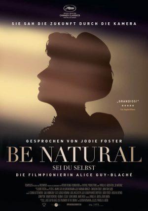BE NATURAL Plakat Neu